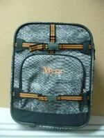 Pottery barn Kids Snake Small Suitcase Luggage rolling MYRA monogrammed