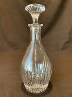 Baccarat Crystal Massena Decanter with Stopper 11 1/4