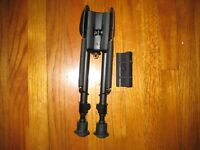 HARRIS BIPOD HBRM WITH PICATINNY MOUNT AUTHENTIC 6