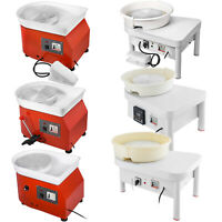 450W Electric Pottery Wheel Ceramic Machine Work Clay Art Craft Free Accessories