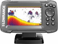 Lowrance HOOK² 4x GPS Fishfinder with Bullet Skimmer Transducer (000-14014-001)