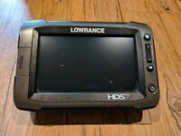 Lowrance HDS 7 Gen 2 Touch Head Unit Only FREE SHIPPING!!!