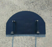Pizza Oven Door wood fired brick oven Heavy Duty Steel Custom Sizes Available