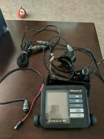 Eagle Magna II Fish Finder With Transducer Power Cable & SPEED SENSOR