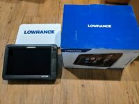 Lowrance HDS 12 Carbon Touch Fishfinder GPS FREE SHIPPING!!!