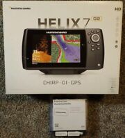 Humminbird Helix 7 chirp gps di g2. Never used