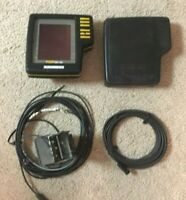 Humminbird TCR ID-10 Fishfinder with Cover, Power Cable, Transducer-No Base