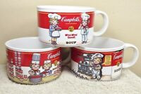 3 Vintage Campbell's Soup Kids Mugs by Westwood From 1997
