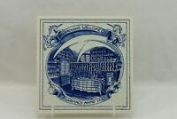 Delft Holland Hand Painted Burroughs Wellcome Co Pharmacy Anno 1730 Tile