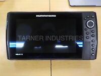 USED HUMMINBIRD HELIX10 CHIRP DI GPS FISH FINDER HEAD UNIT ONLY 17020803-0451