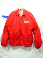 Vintage Russell Coca Cola Jacket Coke truck driver delivery man Size L