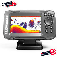 Fish Finder Bullet Transducer W/ Autotuning Sonar & GPS Navigation Options