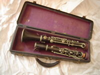 Vintage C.G. Conn Albert System Bb Clarinet - New Pads! - Ready to Play!