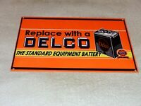 VINTAGE DELCO BATTERY & UNITED MOTOR SERVICE CAR 12