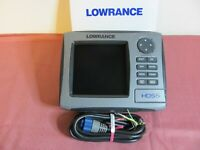"Lowrance HDS 5, Non-Touch 5"" Screen, Sonar/GPS. No Transducer"