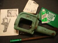 vintage rcbs LR3 reloading press and case lube pad