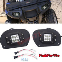 Fit Polaris Sportsman 400/500/550/700/800 UTV 24W Headlight Bracket Replace Kits