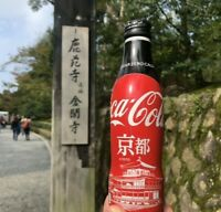 2019 Japan City Coke Series: Coca Cola Zero Kyoto Limited Bottle Kinkakuji