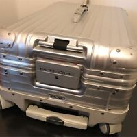 RIMOWA x PORSCHE Topas Multiwheel Trolley Travel Case Luggage Made in Germany