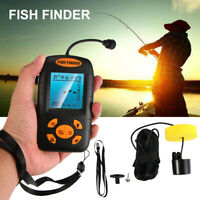 328 FTS Portable Fish Finder Echo Sonar Sensor Transducer Fishfinder US SHIPPING