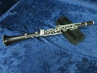 .Conn 424N Bb Wood Clarinet Ser#B342642L Non Playing Condition for Parts/Repair*