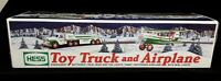 2002 HESS TRUCK TOY TRUCK & AIRPLANE ~ MIB! *