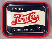 1940 PEPSI COLA Soda Fountain TRAY Original VINTAGE Advertising Music Notes