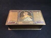 Vintage 1920's Whitman's Chocolates Art Nouveau Candy Tin Box