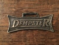 Dempster Mill Mfg Co Watch Fob Hit Miss Engine Windmill Implement Beatrice NE