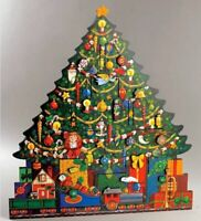 Christmas Tree Calendar, Traditions Advent Calendars by BYERS' CHOICE LTD. - Wit