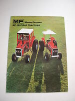 Massey-Ferguson MF 285 & 1085 Tractor Color Brochure 12 pg. original vintage '79