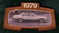 1979 Ford Motor Co Dealership Showroom Wall Sign Granada Picture Display