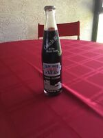 Coca Cola Bottle from January 22, 1984 - Super Bowl VXIII