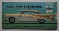 RARE 1958 Ford Motor Co Ford-Aire Suspension Demonstrator Air Ride Advertisement