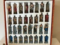 Classic Collectible Hand Painted Chess Set ( additional photos in description )