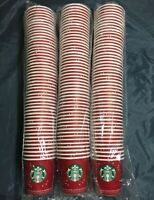 150 Starbucks Disposable Holiday Paper Cups 3.5 oz Sample Size  New Sealed
