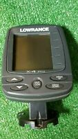 Lowrance X-4 Pro Fishfinder Depth FINDER, Mount, Transducer, Cables,SUCTION CUP!
