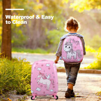 2Pc 12quot; 16quot; Carry On Kids Luggage Set Suitcase Backpack Travel School Trolley