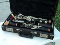 Vintage Selmer Depose Clarinet Hard Case A M9524 Full Boehm Made in France