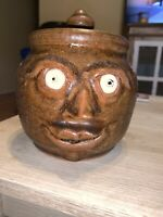 Mildred Meaders Face Garlic Pot Marked #1