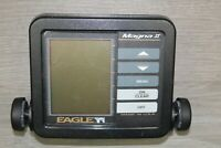 Eagle Magna II Portable Fish Finder Transducer Head Unit Only  Pre Owned AS IS