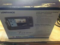 Lowrance Elite 7 chirp sonar & down imaging fish finder & chart plotter