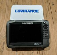 Lowrance HDS 7 Gen 3 Touch Head Unit Only Fishfinder GPS FREE SHIPPING!!!