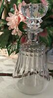 BACCARAT CRYSTAL WHISKY SPIRIT DECANTER W/STOPPER  And SEAL FIGURINE