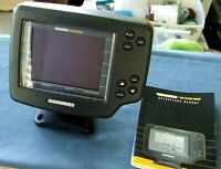 Humminbird Wide View Fish Finder With Base & Owners Manual