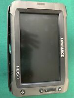 LOWRANCE HDS 9 GEN 2 TOUCH W/ POWER CABLE, COVER, GIMBALL BRACKET AND KNOBS