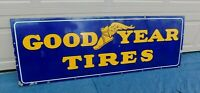 Single Sided Good Year Tires Porcelain Sign 64