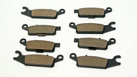 2009 2010 2011 2012 2013 Yamaha 550 Grizzly YFM550 Front & Rear Brake Pads