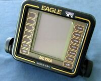 Lowrance Eagle Ultra Fish Finder Head Unit With Mounting Bracket. Tested-Works