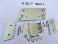 HUMMINBIRD TOTALLY ADJUSTABLE RIGHT SIDE TRANSDUCER MOUNTING BRACKET PLATE F/SHI